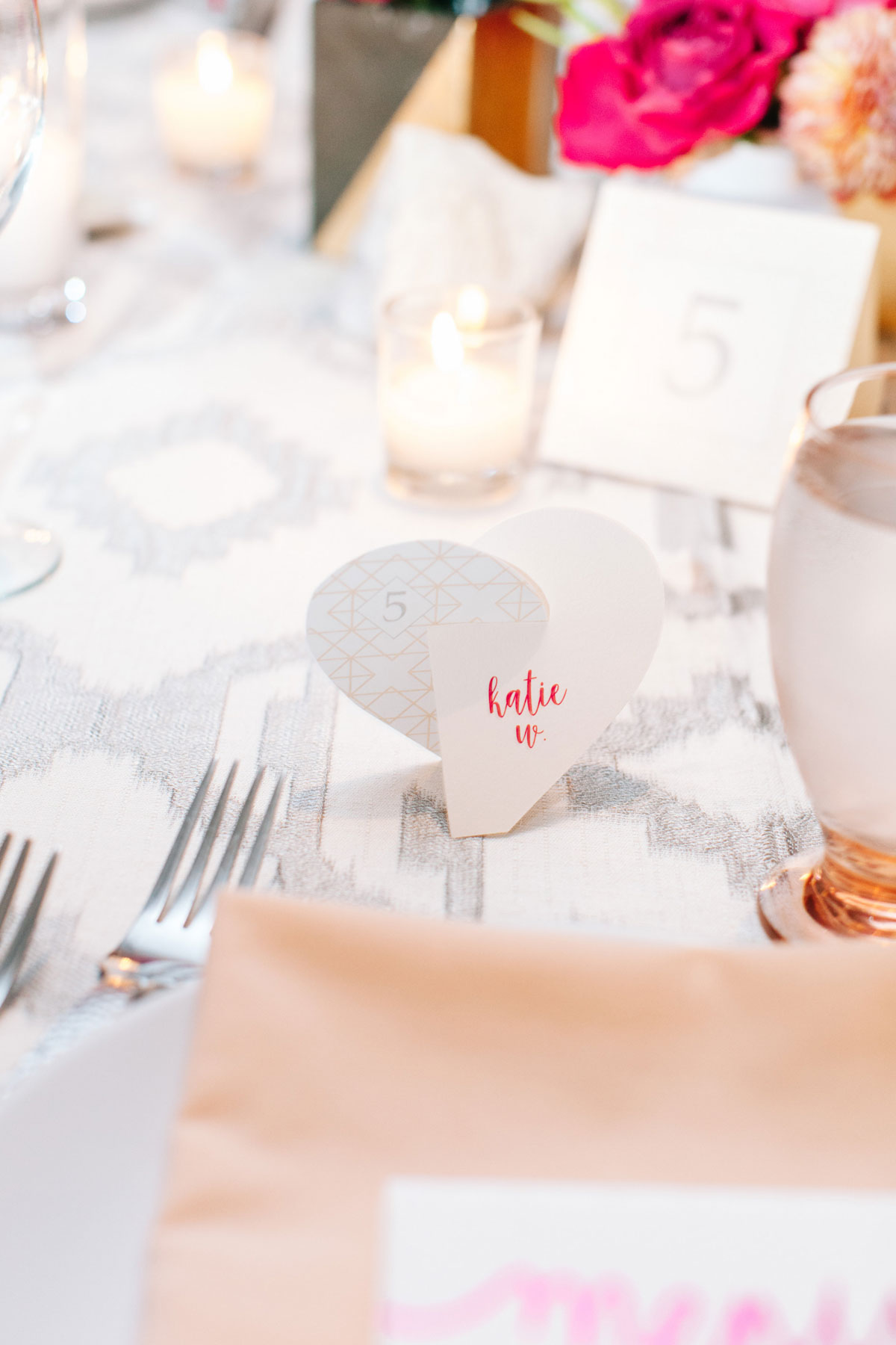 Savvy Experience Beautiful Blush and Silver Dinner Party