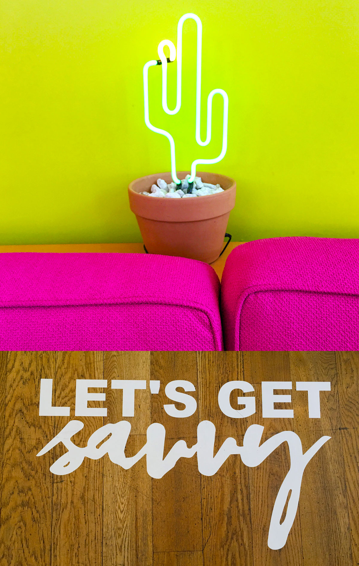 Let's Get Savvy, The Saguaro, Phoenix AZ - The Savvy Experience