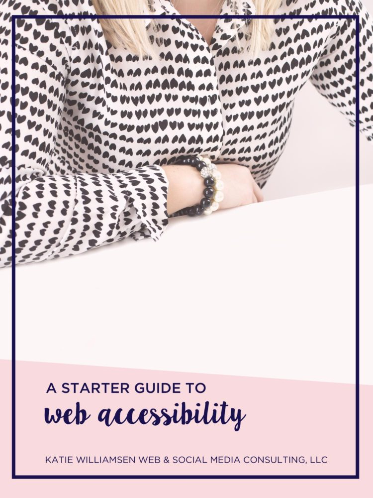 a starter guide to web accessibility